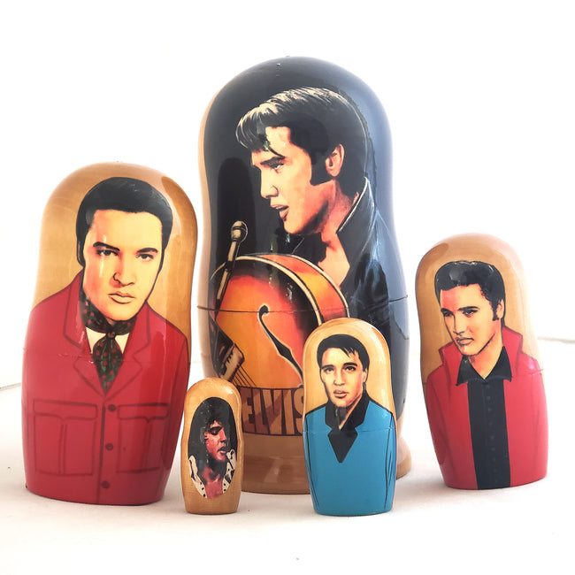 Elvis Presley Russian Stacking Doll 7