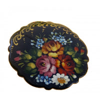 Flowers Traditional Pin/Brooch