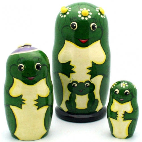 Happy Frog Matryoshka Set