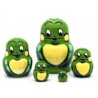 Frog Miniature Nesting Doll Set