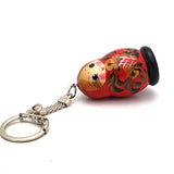 buyrussiangifts-store - Cute Russian Matryoshka Key Chain - BuyRussianGifts Store - Souvenirs