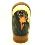 "Weiner Dog Dachshund Breed Matryoshka Doll 4""Tall Set"