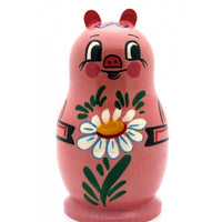 buyrussiangifts-store - Pig Nesting Doll Set - BuyRussianGifts Store - Nesting doll
