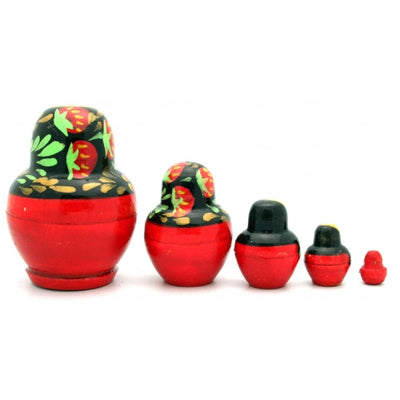 buyrussiangifts-store - Small Nesting Doll with Strawberry - BuyRussianGifts Store - Nesting doll