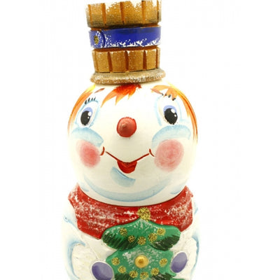 buyrussiangifts-store - Carved Snowman Nesting Set - BuyRussianGifts Store - Nesting doll