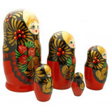 Nesting Doll with Strawberries