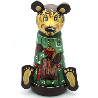 Tale of Kolobok Unique Russian Doll