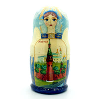 buyrussiangifts-store - Moscow Kremlin Nesting Doll Set - BuyRussianGifts Store - Nesting doll