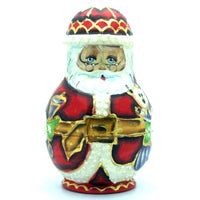 buyrussiangifts-store - Santa in Glasses with Friends Matryoshka Doll Set - BuyRussianGifts Store - Nesting doll