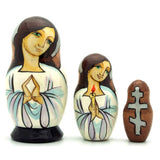 Angel Nesting Doll 3 Piece Set