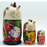 White Cow Nesting Doll Set