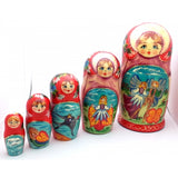 Tumbelina 5 Piece Nesting Doll Set