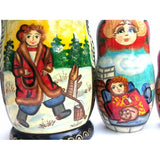 buyrussiangifts-store - Emilyan and The Talking Fish Fairy Tale - BuyRussianGifts Store - Nesting doll