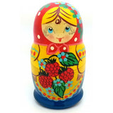 Traditional Strawberry Nesting Doll