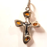 925 silver cross pendant