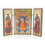buyrussiangifts-store - Triptych Mother of God Addition of Mind - BuyRussianGifts Store - Souvenirs