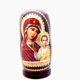 buyrussiangifts-store - Mother of God of Kazan Icon Nesting Doll - BuyRussianGifts Store - Nesting doll
