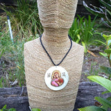 Our Lady of Vladimir necklace