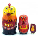 Rooster Nesting Doll