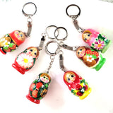 russian doll keychain