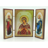 buyrussiangifts-store - Virgin Softener of Evil Hearts or Seven Arrow Triptych - BuyRussianGifts Store - Souvenirs
