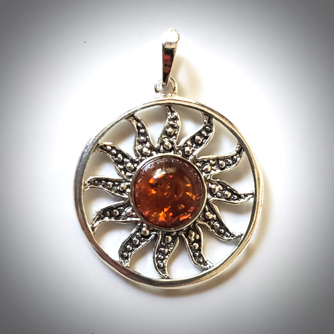 Baltic amber silver amber