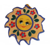 Sun Wooden Christmas Ornament