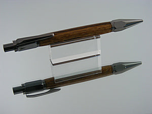 Mechanical Pencil, Handmade Pencil in Gunmetal and Marblewood