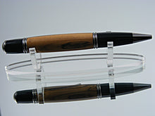 Load image into Gallery viewer, Classic, Handmade Ballpoint Pen with Gunmetal and Bethlehem Olivewood