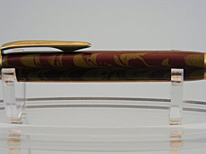 Mechanical Pencil, Handmade 2mm Pencil in Antique Brass and Ebonite