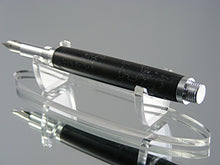 Load image into Gallery viewer, Industrial, Handcrafted Fountain Pen with 6061 Aluminum and Penn-stone