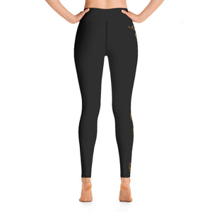 Bach Squiggle High Waist Leggings