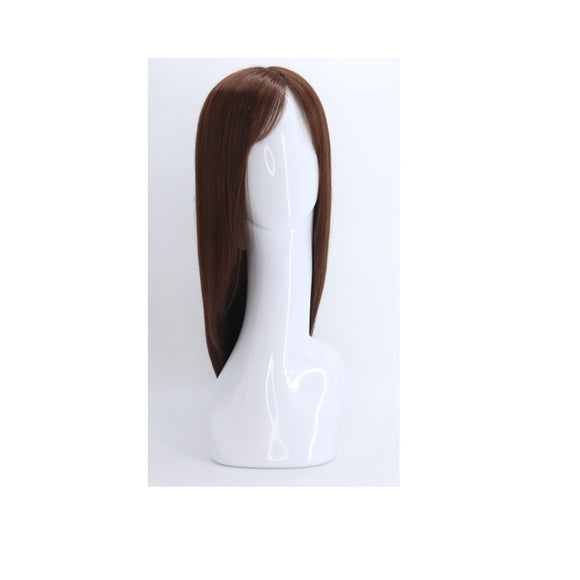 SYNTHETIC WIG LONG BURGUNDY SYNS-BURGUNDY33 LIGHT BROWN 845 FRONT