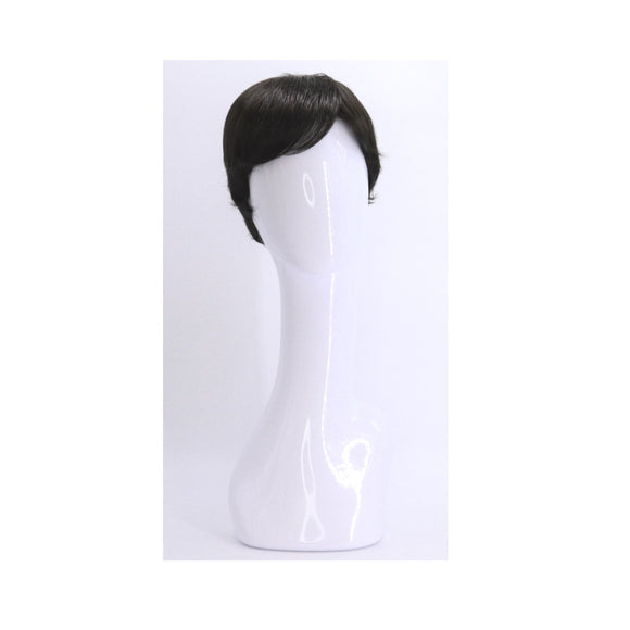 SYNTHETIC WIG SHORT BROWN BLACK SYNS-DARKEST BROWN BLACK 837 FRONT