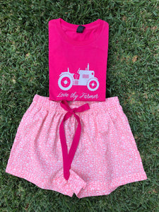 Girls' Liberty Fabric Boxer Short Set