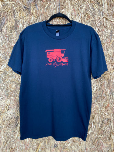 Men's Short Sleeve Navy Header T-Shirt
