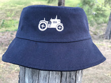 Load image into Gallery viewer, Kids' Sun Hat with Embroidered tractor