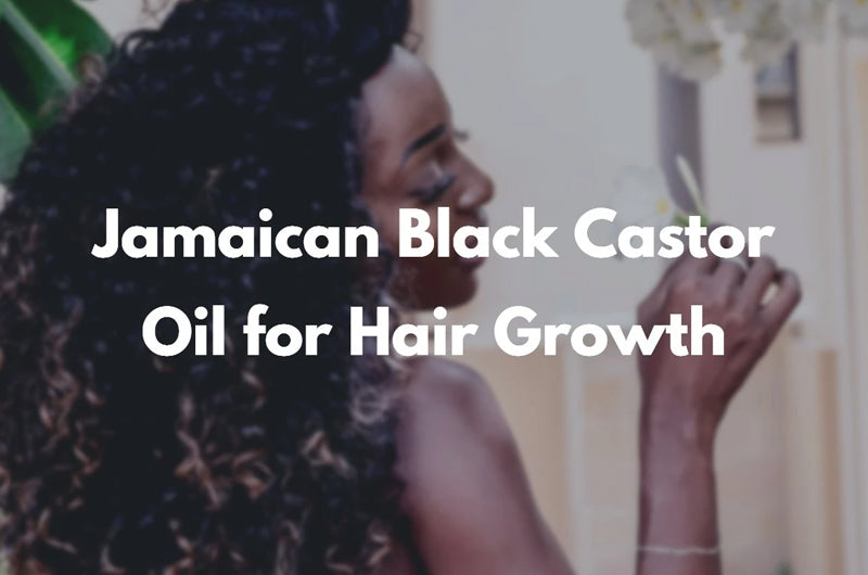 Jamaican Black Castor Oil for Hair Growth and Beard Health