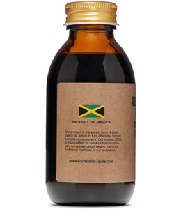 Organic Pure Jamaican Black Castor Oil 4oz