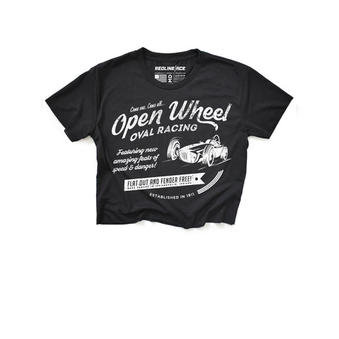 OPEN WHEEL CROP TOP