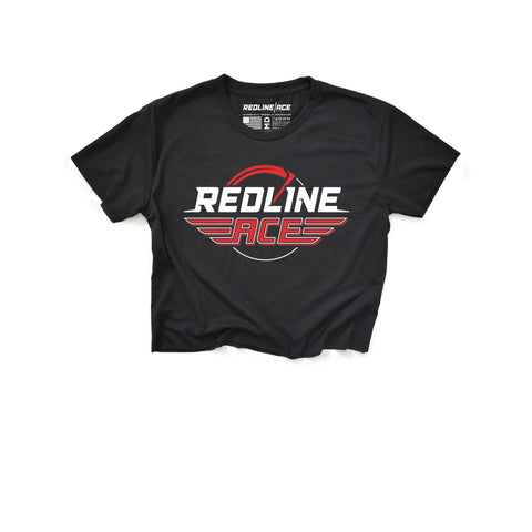 REDLINE ACE MASHUP CROP TOP