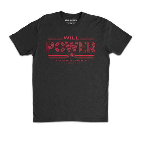 WILL POWER TOOWOOMBA TEE