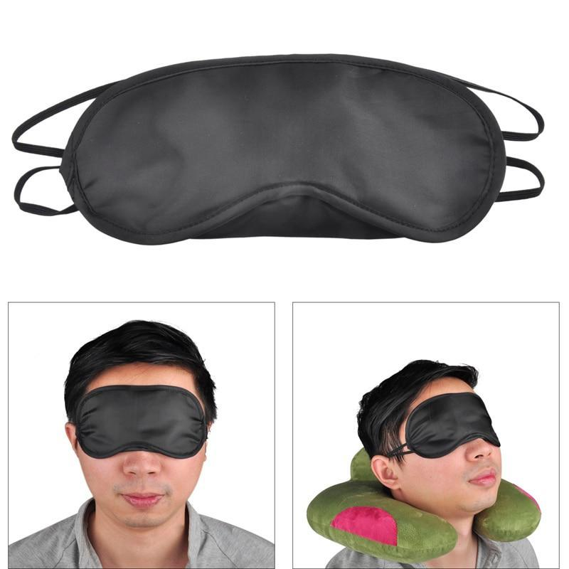 100 Pcs Travel Sleeping Blindfold Eye Patch Night Mask