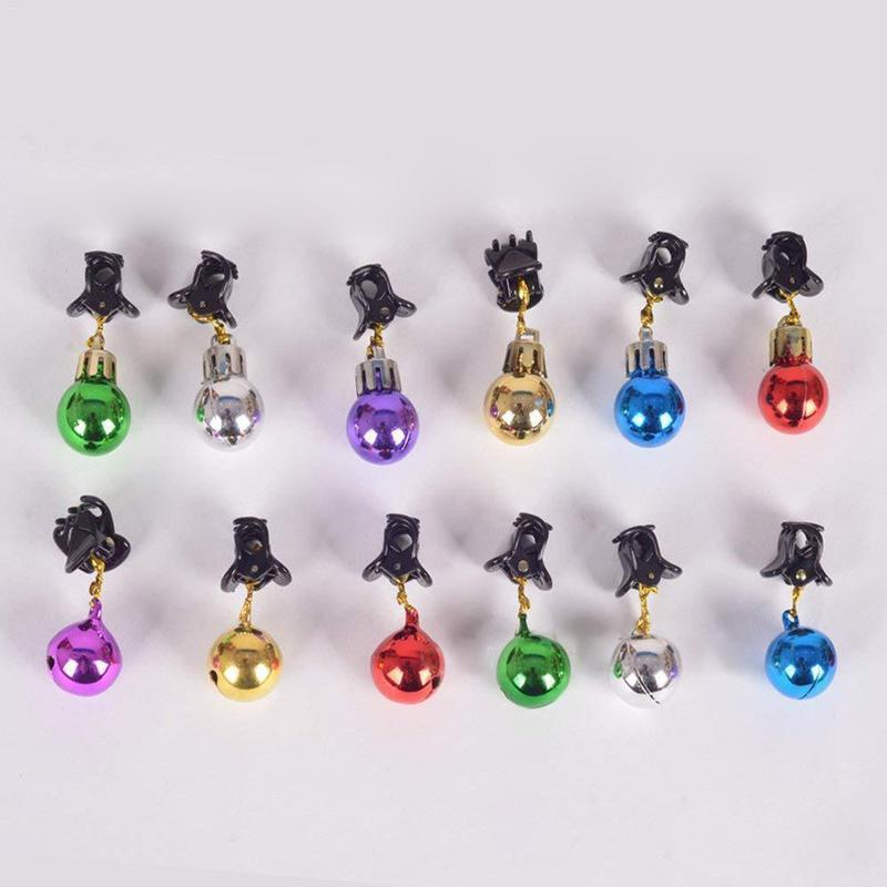 Beard Ornaments - Colorful Christmas Facial Hair Baubles!