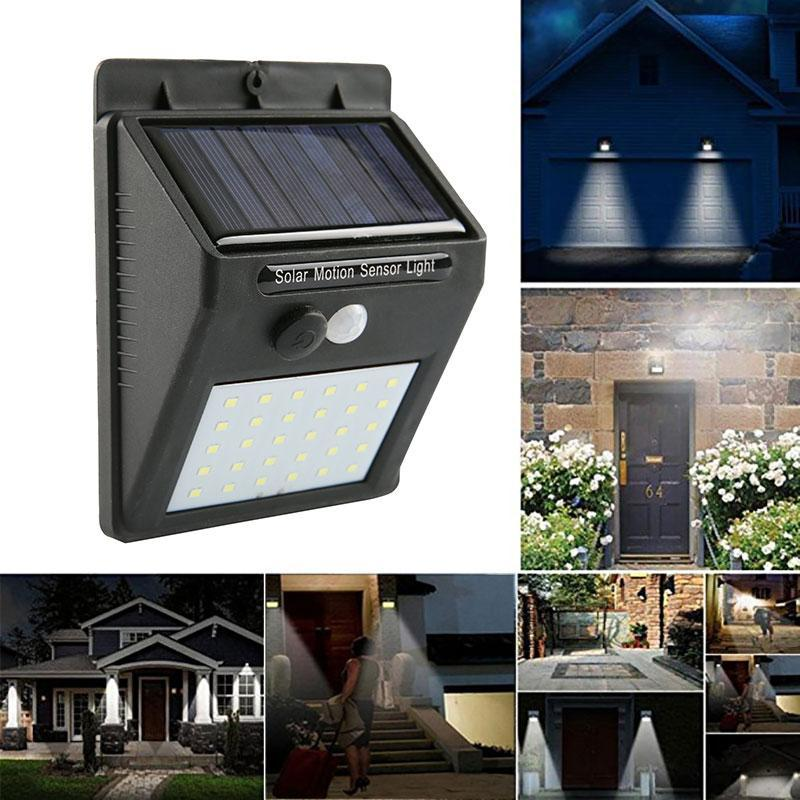 Quick Install Solar Waterproof Wall Light