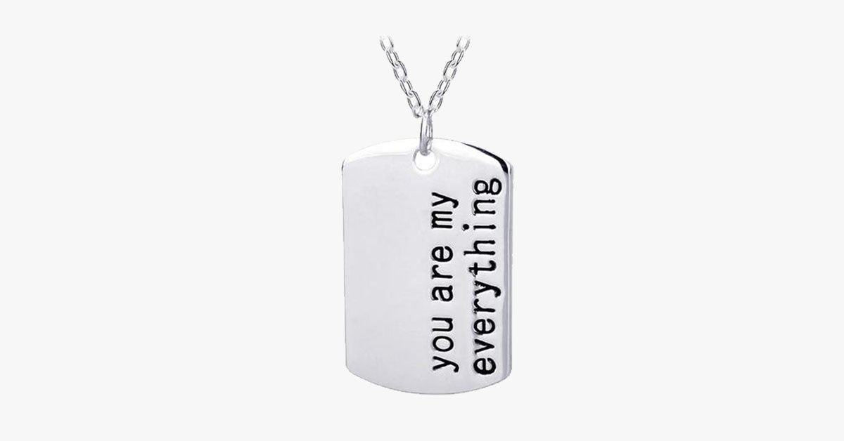 You Are My Everything Pendant