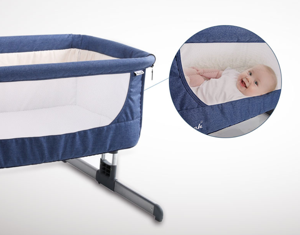 Portable Infant Bed Connectable To Parent's Bed
