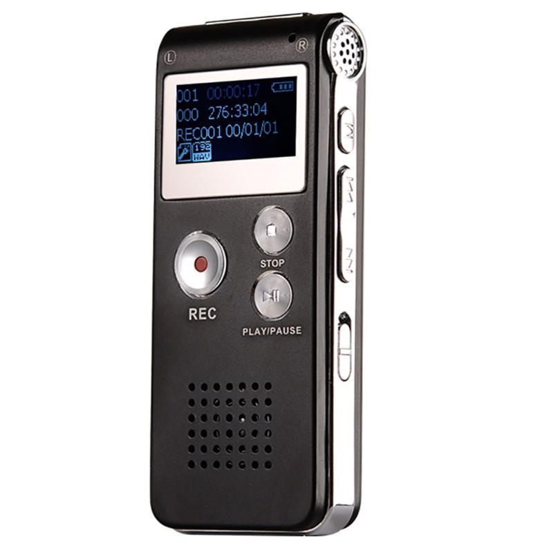 8GB Digital Dictaphone Voice Recorder