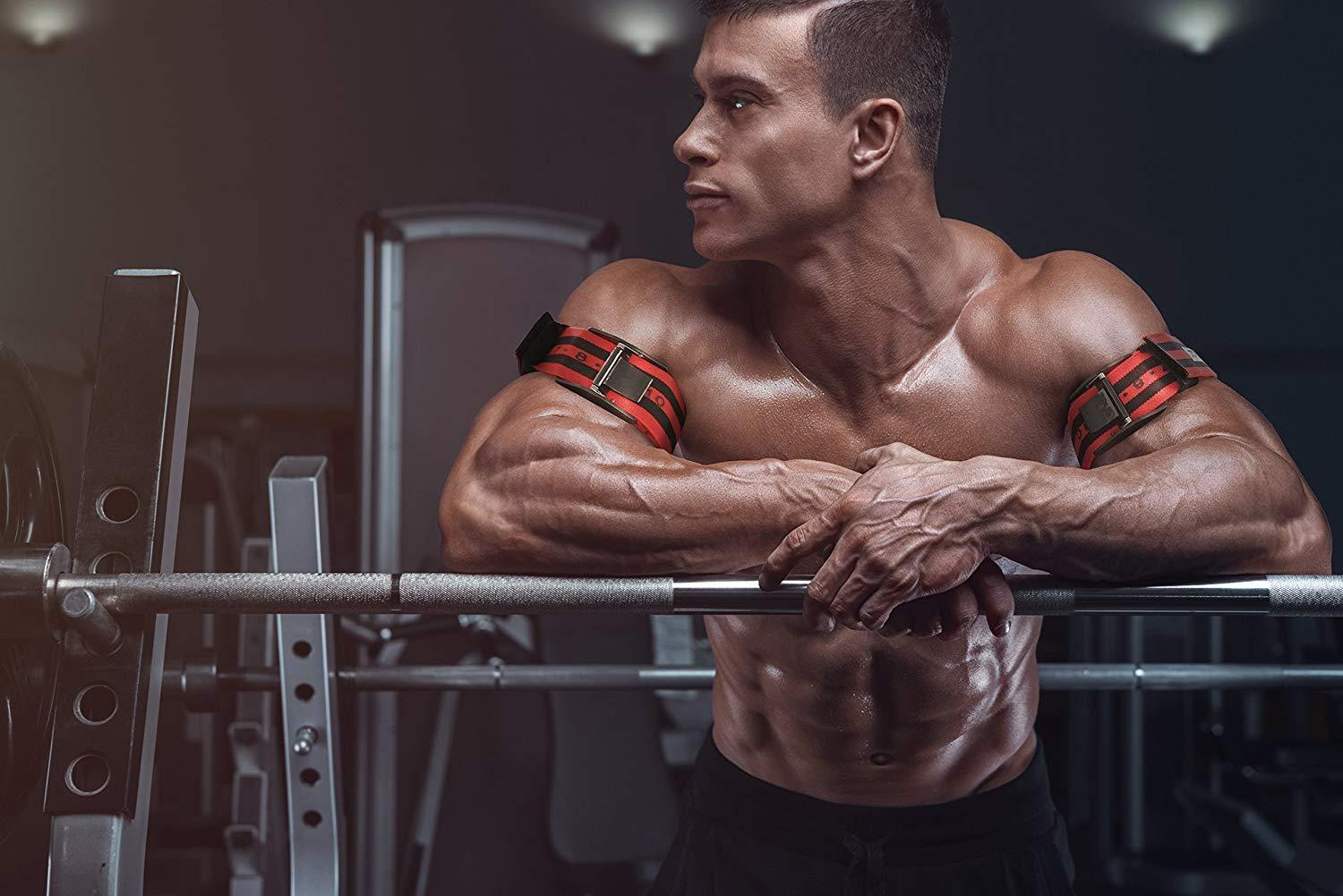 Training Bands PRO X Model Blood Flow Restriction Bands Pull to Tighten