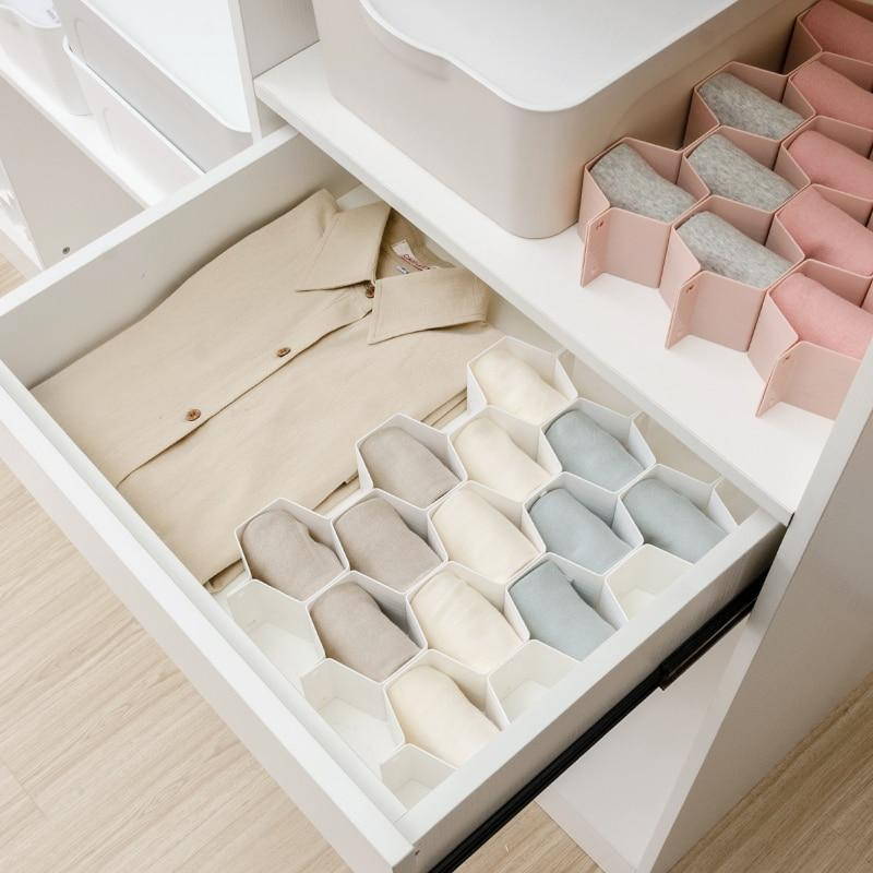 Adjustable Honeycomb Drawer Organizer